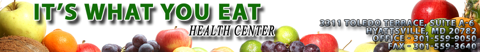 It's What You Eat Health Center